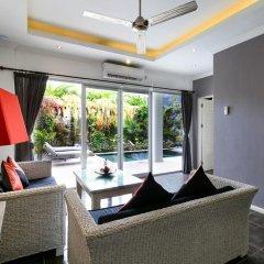 Отель Aleesha Villas 3* Вилла Премиум с различными типами кроватей фото 7