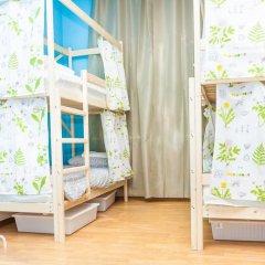 Гостиница Hostels Rus Golovinskiy Кровать в общем номере с двухъярусной кроватью фото 10
