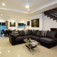 Отель Kata Hill View Villas by Kata Sea View Villas 3* Вилла разные типы кроватей фото 11