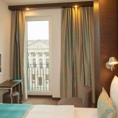 Отель Motel One Berlin-Potsdamer Platz Германия, Берлин - отзывы, цены и фото номеров - забронировать отель Motel One Berlin-Potsdamer Platz онлайн комната для гостей фото 2