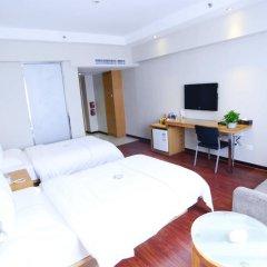 Отель Insail Hotels Railway Station Guangzhou 3* Стандартный номер с различными типами кроватей фото 2