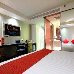 Отель Citrus Sukhumvit 13 by Compass Hospitality 3* Улучшенный номер с различными типами кроватей фото 6
