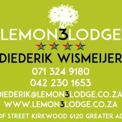 Отель Lemon3Lodge с домашними животными