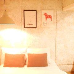 Отель The Mei Haus Hongdae 3* Номер Делюкс с различными типами кроватей фото 3