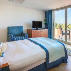 Отель Cleopatra Luxury Resort Makadi Bay 5* Стандартный семейный номер с различными типами кроватей фото 2