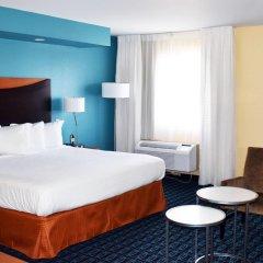 Отель Fairfield Inn & Suites by Marriott Albuquerque Airport 2* Стандартный номер с различными типами кроватей