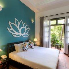 Отель Hoi An Trails Resort 4* Улучшенный номер с различными типами кроватей фото 4