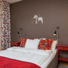 Отель Hotell Fridhemsgatan 3* Стандартный семейный номер с различными типами кроватей фото 4