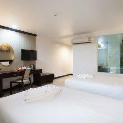 Grand Supicha City Hotel 3* Стандартный номер разные типы кроватей фото 4