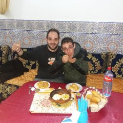 Отель Dar Ziat Марокко, Фес - отзывы, цены и фото номеров - забронировать отель Dar Ziat онлайн питание фото 2