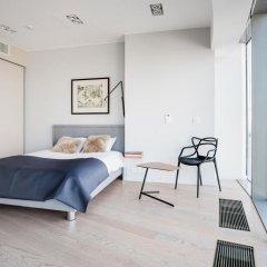 Отель 40th+ Floor Luxury Apartments in Sky Tower Польша, Вроцлав - отзывы, цены и фото номеров - забронировать отель 40th+ Floor Luxury Apartments in Sky Tower онлайн балкон