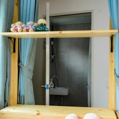 Отель I'm Green House 3* Кровать в общем номере с двухъярусной кроватью фото 9
