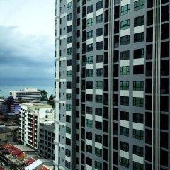 Отель The Base Pattaya by Smart Delight Паттайя балкон