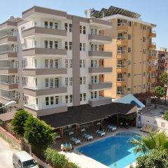 Отель Kleopatra South Star Apart Апартаменты с различными типами кроватей фото 13