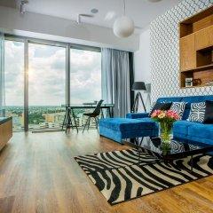 Отель Apartamenty Sky Tower Студия с различными типами кроватей фото 9