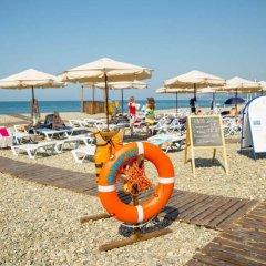 Гостиница Морская Сказка пляж
