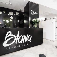 Отель Blanq Carmen Hotel Испания, Валенсия - отзывы, цены и фото номеров - забронировать отель Blanq Carmen Hotel онлайн интерьер отеля фото 3