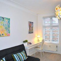 Отель City View Apartment Copenhagen Дания, Копенгаген - отзывы, цены и фото номеров - забронировать отель City View Apartment Copenhagen онлайн комната для гостей фото 4