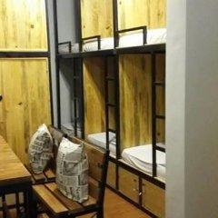 Da Lach Hostel Кровать в общем номере