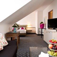 Отель ACHAT Premium Walldorf/Reilingen 4* Улучшенный номер с различными типами кроватей фото 2