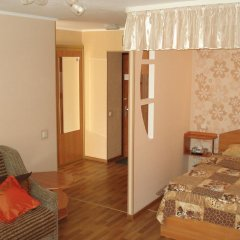 Гостиница OneBedroom Apart in the Centre Апартаменты разные типы кроватей фото 7