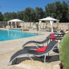 Отель Masseria Coccioli Италия, Лечче - отзывы, цены и фото номеров - забронировать отель Masseria Coccioli онлайн бассейн фото 2