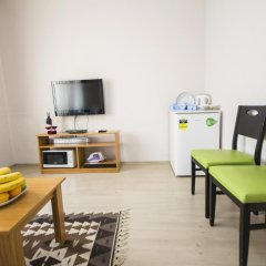 Апартаменты Feyza Apartments Апартаменты с различными типами кроватей фото 26