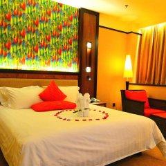 Отель Riyuegu Hotsprings Resort комната для гостей фото 4