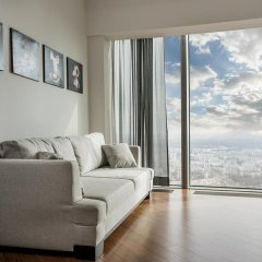 Отель Sky Tower Wroclaw 46th Floor Penthouse Апартаменты фото 3
