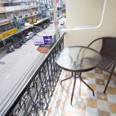 Апартаменты Studio Central Pattaya By Icheck Inn Паттайя балкон