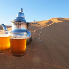 Отель Morocco Desert Trek Марокко, Мерзуга - отзывы, цены и фото номеров - забронировать отель Morocco Desert Trek онлайн бассейн