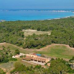 Отель Agroturismo Ses Arenes пляж фото 2
