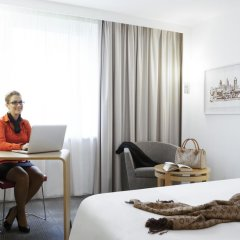 Отель Novotel Zurich Airport Messe 4* Улучшенный номер с различными типами кроватей фото 4