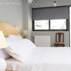 Апартаменты Live in Athens, short stay apartments комната для гостей фото 3