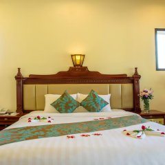 Отель Agribank Hoi An Beach Resort 3* Номер Делюкс с различными типами кроватей фото 21