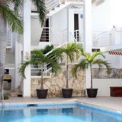 Отель Terracaribe Hotel Мексика, Канкун - отзывы, цены и фото номеров - забронировать отель Terracaribe Hotel онлайн бассейн фото 3