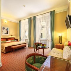 Hotel Paris Prague 5* Номер Делюкс с различными типами кроватей фото 2