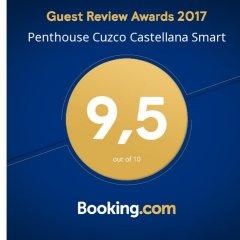 Отель Ático Cuzco Castellana Smart питание