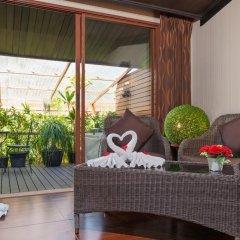 Отель Tropica Bungalow Resort 3* Люкс с различными типами кроватей фото 6