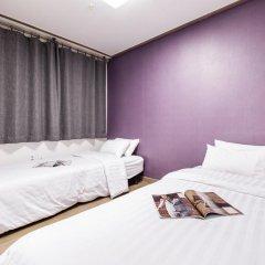 Отель CMS Inn Seoul Guesthouse 2* Стандартный номер с различными типами кроватей фото 3
