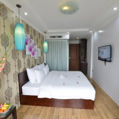 Hanoi Bella Rosa Suite Hotel 3* Номер Делюкс с различными типами кроватей фото 3