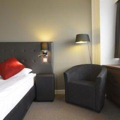 Thon Hotel Brussels City Centre 4* Стандартный номер с разными типами кроватей фото 3