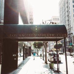 Отель The Los Angeles Athletic Club пляж