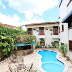Отель Plaza Copan Гондурас, Копан-Руинас - отзывы, цены и фото номеров - забронировать отель Plaza Copan онлайн бассейн фото 2