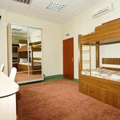 City Hostel Panorama Кровать в общем номере с двухъярусной кроватью фото 12