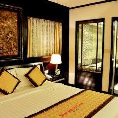 Muong Thanh Three Star Hotel 3* Номер Делюкс фото 2