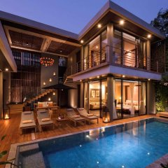 Отель V Villas Hua Hin MGallery by Sofitel 5* Вилла с различными типами кроватей фото 3