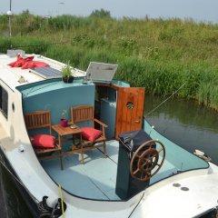 Отель Floating B&B Amsterdam Нидерланды, Амстердам - отзывы, цены и фото номеров - забронировать отель Floating B&B Amsterdam онлайн приотельная территория фото 2
