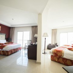 Отель Petra Moon Hotel Иордания, Вади-Муса - отзывы, цены и фото номеров - забронировать отель Petra Moon Hotel онлайн комната для гостей фото 2
