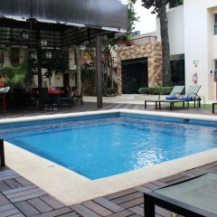 Отель Grand City Hotel Cancun Мексика, Канкун - отзывы, цены и фото номеров - забронировать отель Grand City Hotel Cancun онлайн бассейн фото 4